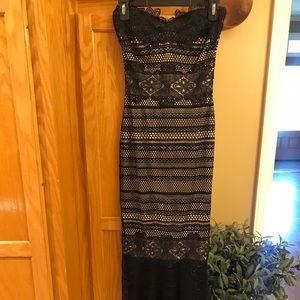 Dresses & Skirts - Gorgeous lace black formal dress
